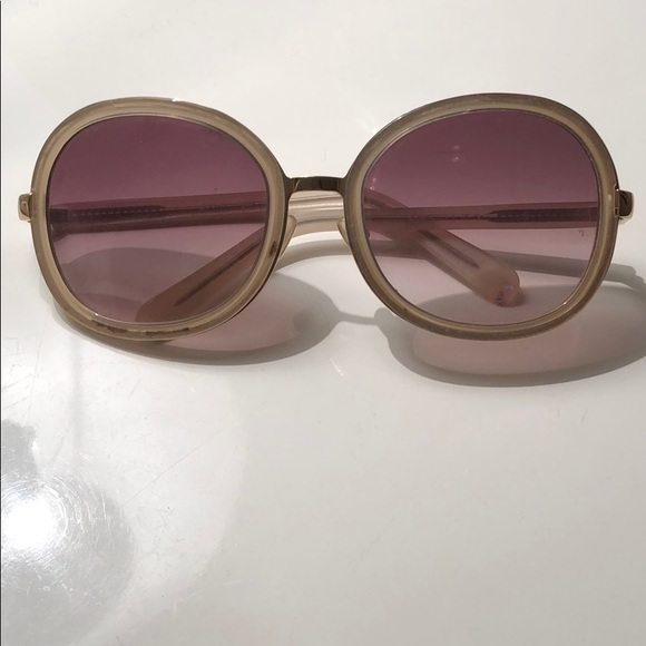 1774c066aca2 Chloe Accessories - Chloe Round Oversized Sunglasses